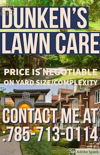 Lawn mowing Marysville, 66508