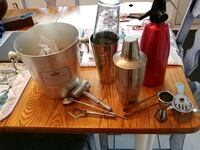 stainless steel and red KitchenAid stand mixer Longueuil, J4M 1M5