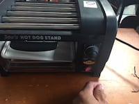 Hot Dog Roller Grill with Bun Warmer-hot dog roller series, HDM405-7 Mississauga