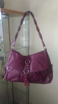Nina Ray real leather bag