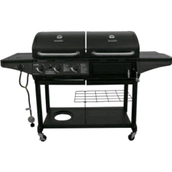 Used Char Broil Propane Charcoal Combo Grill New For In Farmingdale Letgo