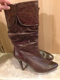 Aldo brown leather boot