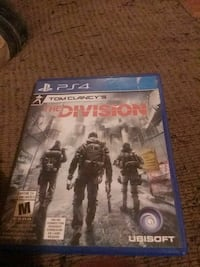 The Division PS4 game case Windsor, N9A 5J2