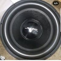 "18"" inch subwoofer (competition)"