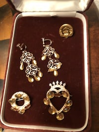 Sterling silver Norwegian solje  jewels from a Masons collection Tualatin, 97062