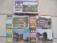5 Brand New Famous Japan Temples Scale Model Kit Winnipeg