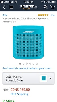 Bose sound link Bluetooth speaker Edmonton, T5K 2Y6