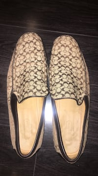 pair of brown Coach loafers Knoxville, 21758