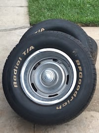 Tires bf goodrich with rally rims Palm Coast, 32164