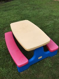 Fisher price adjustable picnic table gallery table decoration ideas used fisher price adjustable height child picnic table in oyster bay fisher price childrens picnic table watchthetrailerfo
