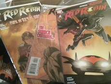 Red Robin comic book collection