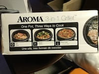 Aroma 3-in1 Grillet - Brand New in the Box Dana Point