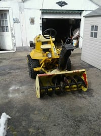 yellow and black snowblower Rochester