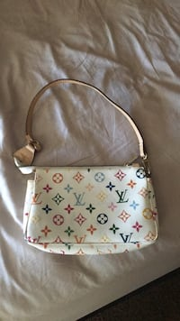 white and brown Louis Vuitton leather crossbody bag Calgary, T2Z 0X6