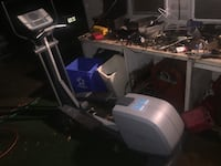 Elliptical exercise machine null