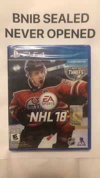 Ea sports nhl 18 ps4 game Brampton, L7A