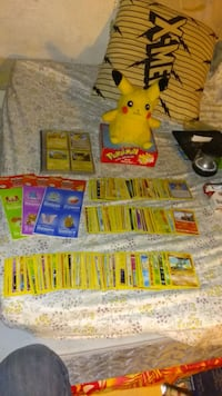 Pokemon cards and collectables over 500 cards,1pikcahu