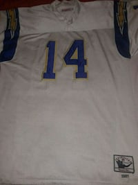 white and blue NFL jersey North Little Rock, 72120