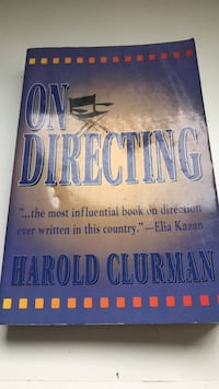 on directing harold clurman book West Hollywood, 90048