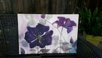 3ftx2ft canvas print purple &grey tones  Halton Hills, L7G 3Y3