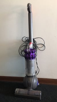 Purple and gray dyson upright vacuum cleaner Sioux Falls, 57106