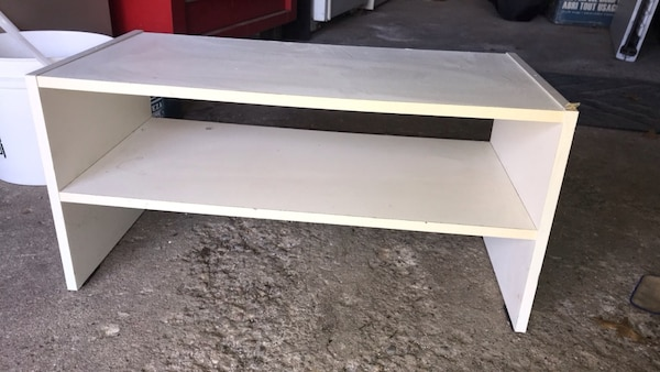 White Shoe Rack 2552228a-5dfb-4507-bcf2-b614d9fb4ce7