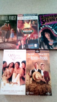 5 VHS Movies!!!!