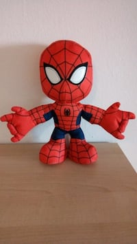 Spiderman plush toy