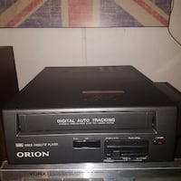 CITECH VHS/DVD PLAYER  8 head VCR WORKS GREAT