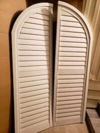 White Plantation Shutters  Santa Ana
