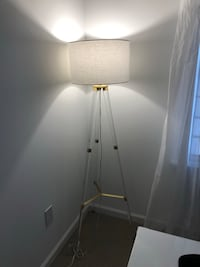 white and gray floor lamp 6 mi