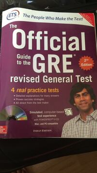 GRE Practice Text Books Paris, 75001