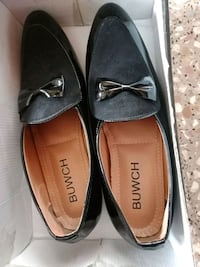pair of brown leather loafers Bengaluru, 560078