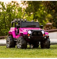 toddler's pink and black ride-on car toy Homestead, 33033
