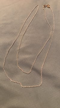 silver-colored curb chain necklace Ashburn, 20148
