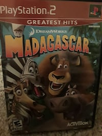 Dream works madagascar playstation 2 game case