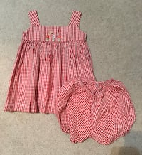 24m dresss and bloomers