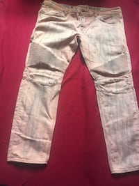 White and gray denim jeans Chicago, 60649