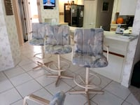 Dinette table and 4 chairs and 3 bar stools Spring Hill, 34606