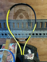 yellow and black tennis racket Burnaby, V5A 1T4