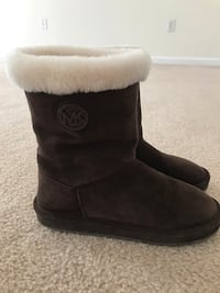 Michael Kors brown suede boots Frederick, 21704
