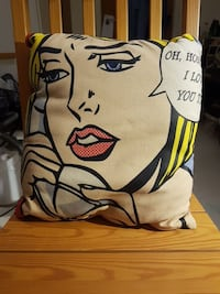 Kudde Pillow pop art Stockholm, 118 46