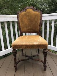 DYIer's Dream.  Antique chair with strong bones.  STERLING