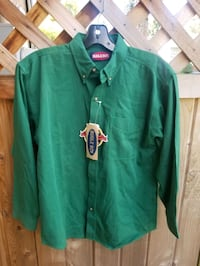 green and white zip-up jacket Surrey, V3T 3Y4