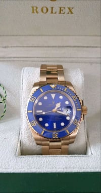 Blue & Gold Watch  Vancouver