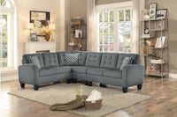 Brand New Grey Sectional Sofa  Austin