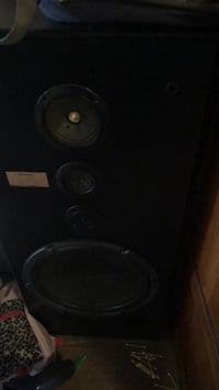 I have 2 big speakers from a studio for sell works great !  Richmond, 23223