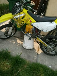 yellow and black motocross dirt bike French Camp, 95231