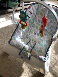 Baby comfort curve bouncer chair  Germantown, 20874