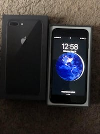 Black iPhone 8 plus 64 gb WAUKEGAN
